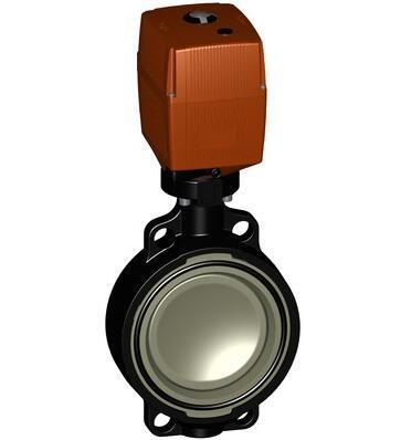 不带手动超控的145型Progef标准电动蝶阀